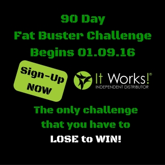 90 DayFat Buster Challenge-Instagram AD